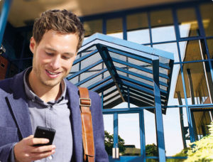Image of Man with Phone