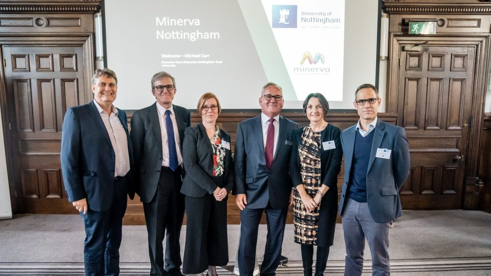Nottingham's universities join forces with Minerva Business Angels