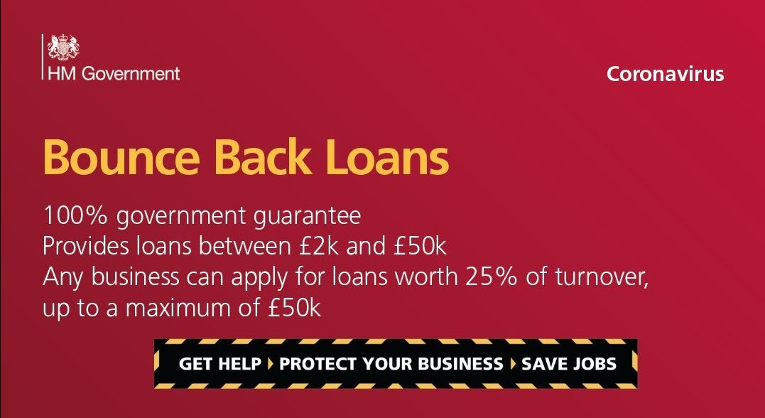 Small businesses boosted by bounce back loans