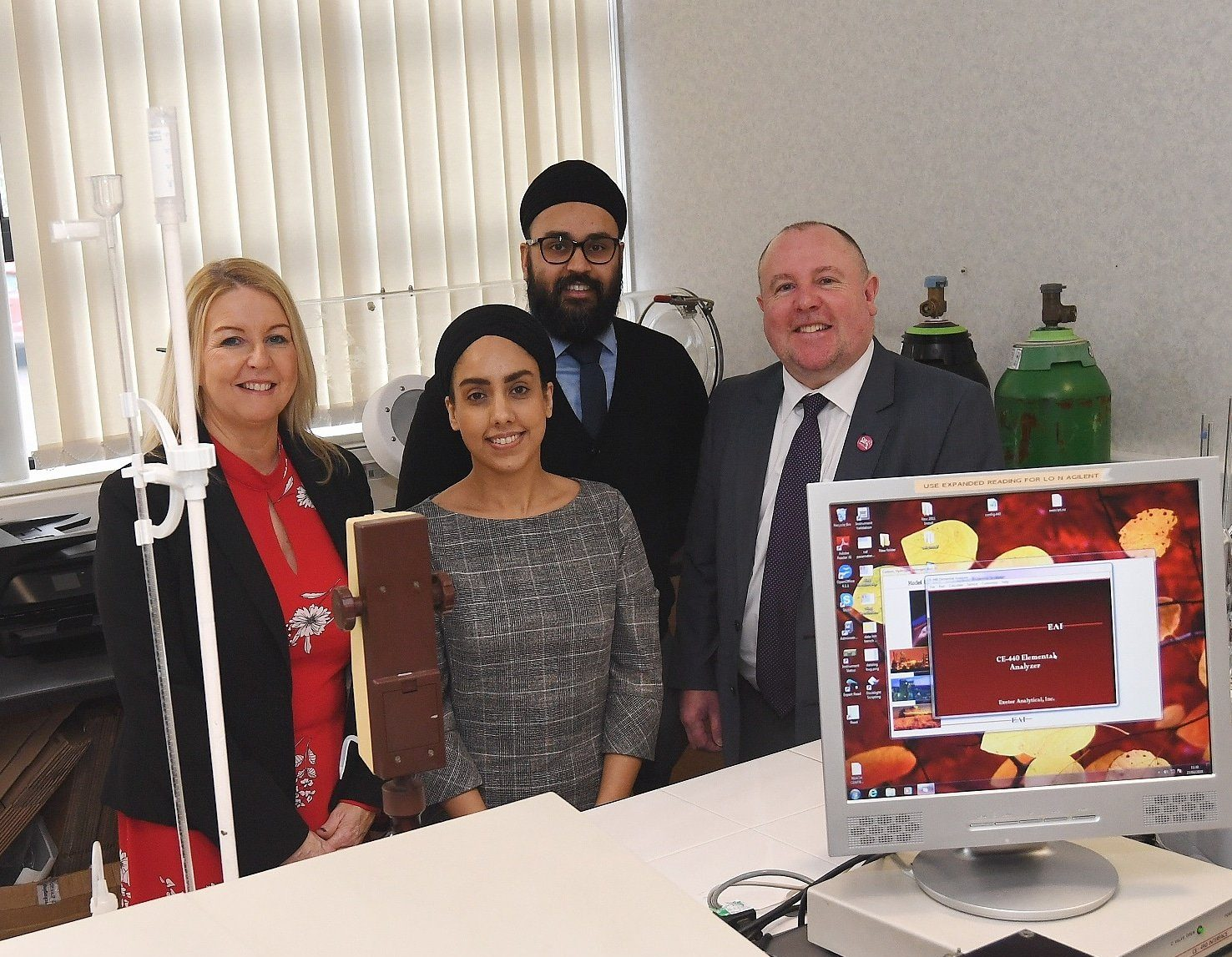 Specialist laboratory targets global markets