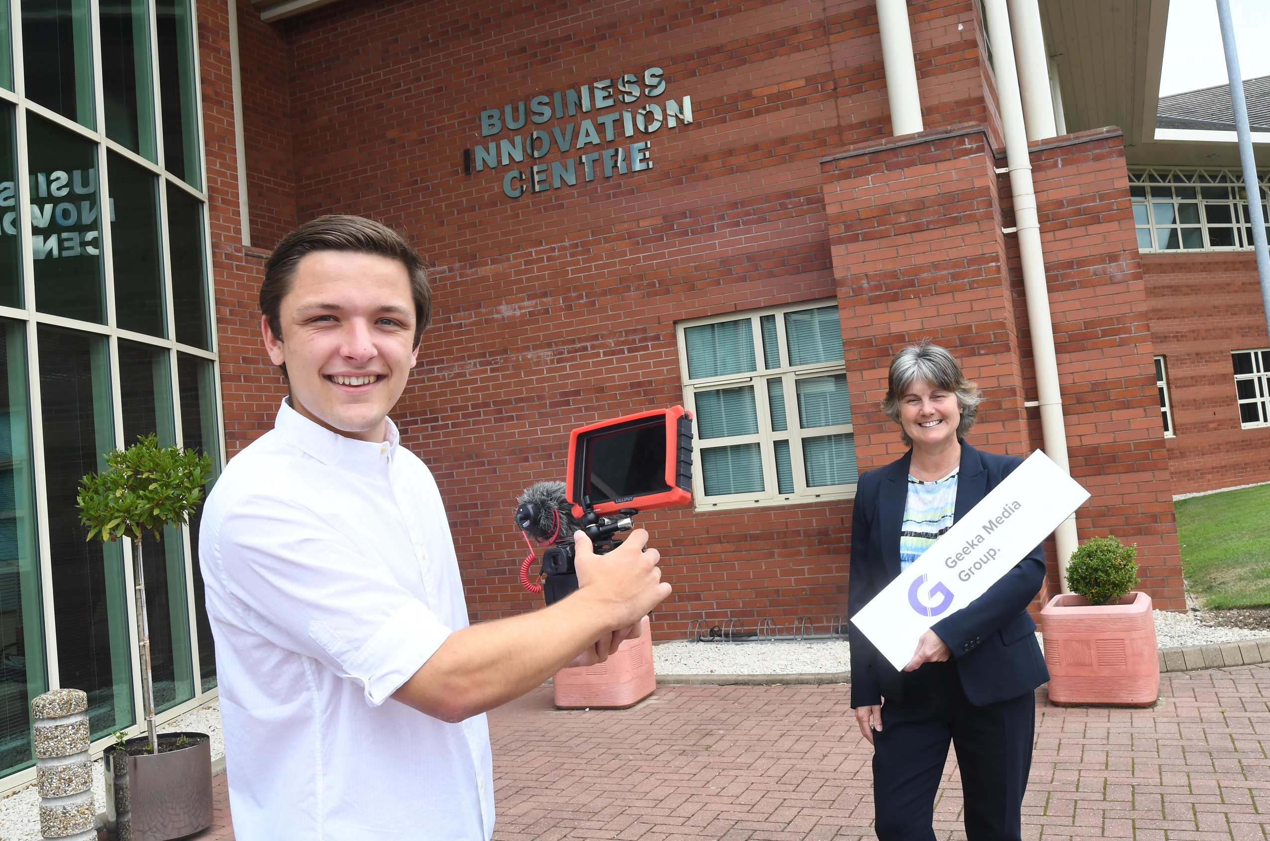 Teenage entrepreneur from Coventry sets up office in the city
